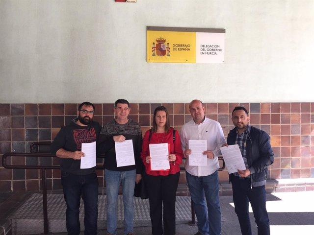 Pedáneos del PSOE afectados por la llegada del AVE