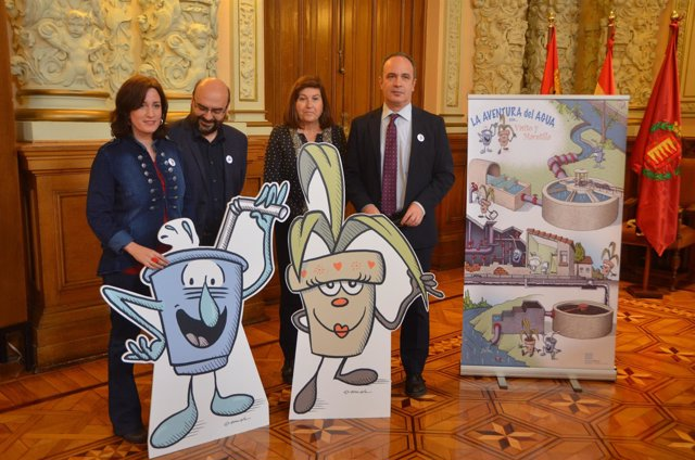Valladolid (16-03-2018).- La aventura del Agua