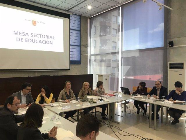 Mesa Sectorial de Educación