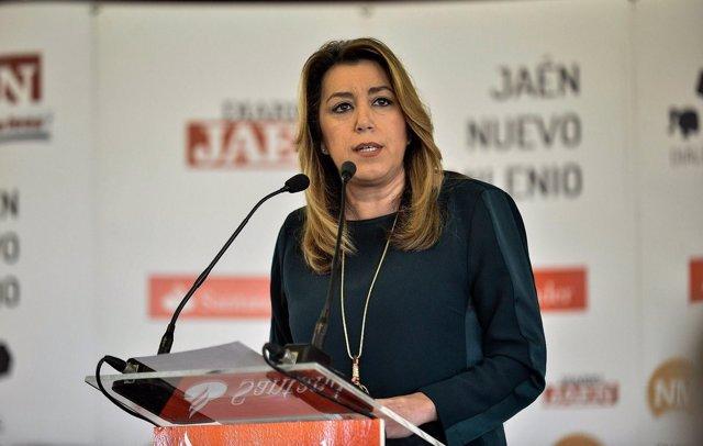 Susana Díaz, en el foro 'Diálogos Jaén Nuevo Milenio'