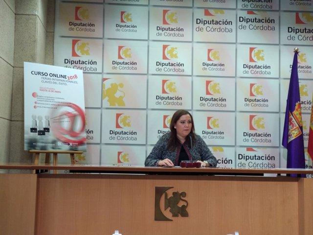 Ana Carrillo presenta el curso de ferias internacionales