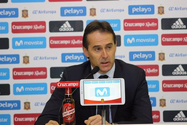 Julen Lopetegui (Selección Española)