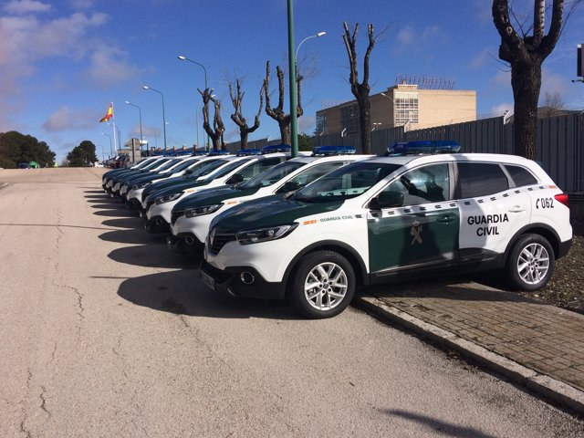 Modelos Kadjar de la Guardia Civil