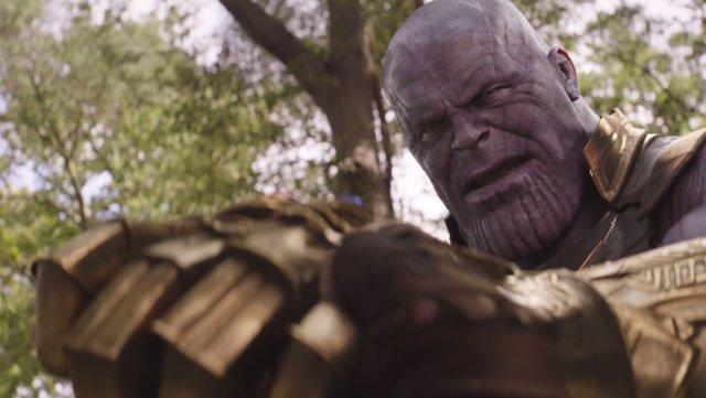 Thanos en Vengadores Infinty War