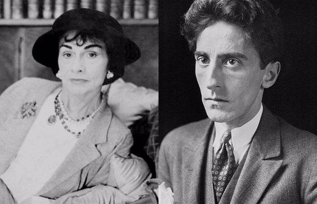 Coco Chanel y Jean Cocteau