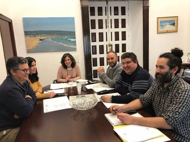 Reunión Diputación, Ayuntamiento de Grazalema y Ecologistas en Acción