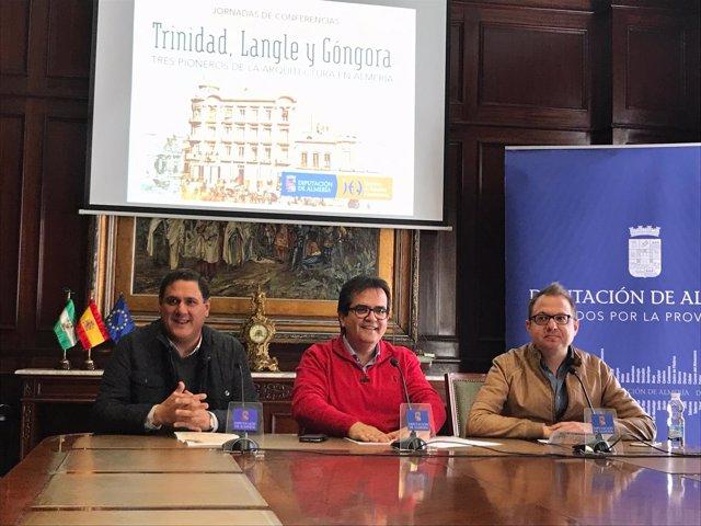 El ciclo sobre los arquitectos Trinidad, Langle y Góngora será de marzo a mayo.