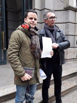 Juan Pinilla a las puertas de la Fiscalía Superior de Andalucía
