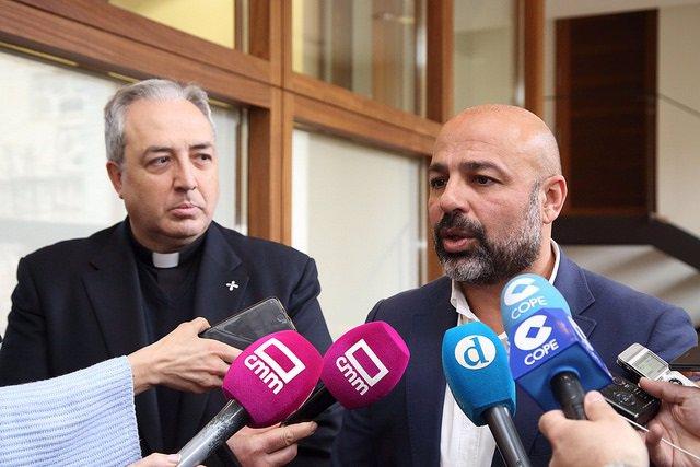 Reunión entre José García Molina y Francisco César García Magán