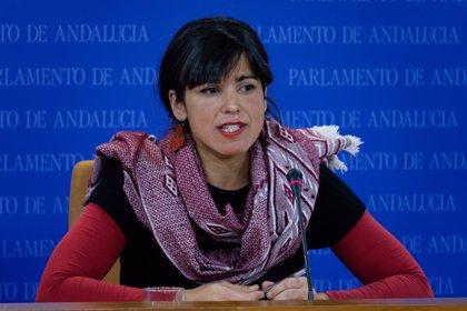 Teresa Rodríguez muestra su apoyo a las movilizaciones por las pensiones de este sábado