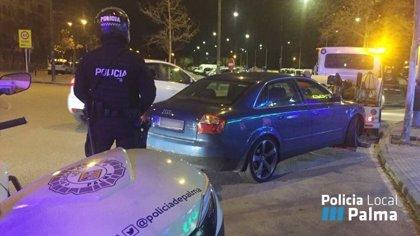 La Policía Local realiza un centenar de controles en barrios de Palma desde diciembre