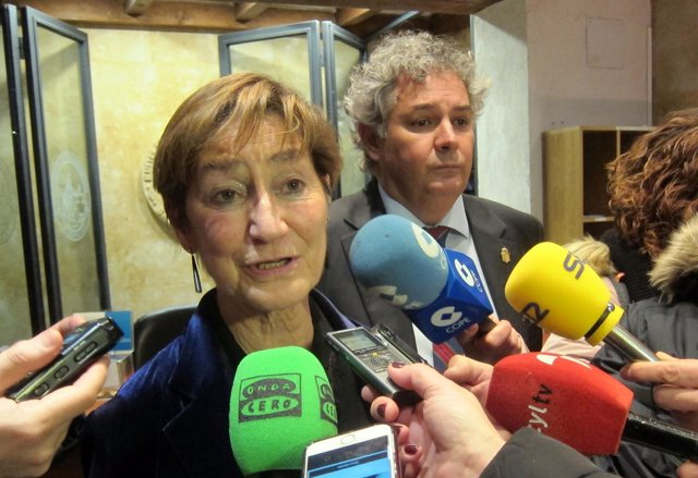Victoria Ortega, presidenta de los abogados españoles.
