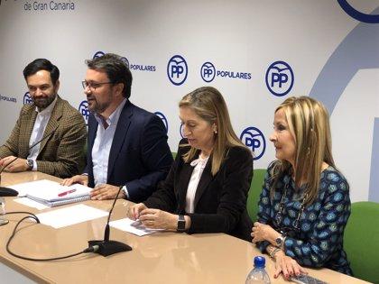 """Antona afirma que Canarias cierra """"un siglo político agotado y agotador"""" tras años de hegemonía de poder de CC"""
