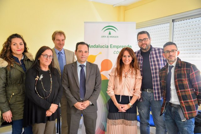 La delegada de Economía en Cádiz en un acto en la Línea