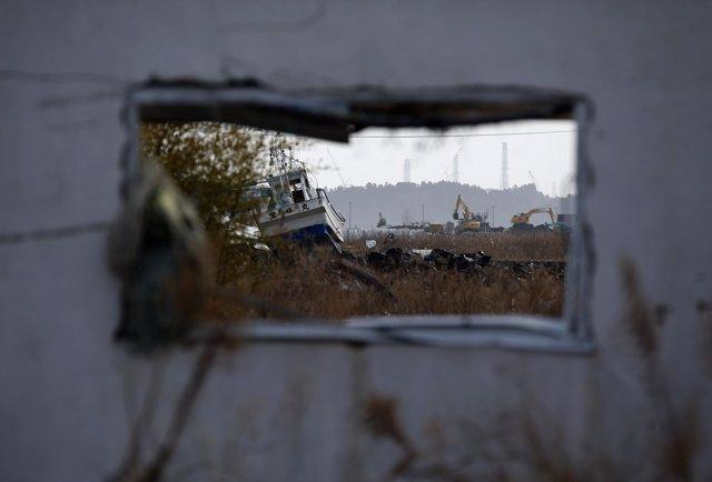 Imagen de archivo de Fukushima tras el accidente nuclear