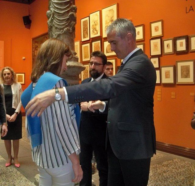 Entrega de premios de la XXIX Olimpiada Aragonesa de Física.