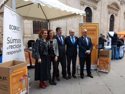 Junta destaca la necesidad de campañas para fomentar el reciclaje de residuos eléctricos