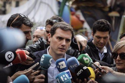 """Rivera, sobre posibles candidatos de Cs en la Comunitat: """"Serán los militantes los que decidan"""""""