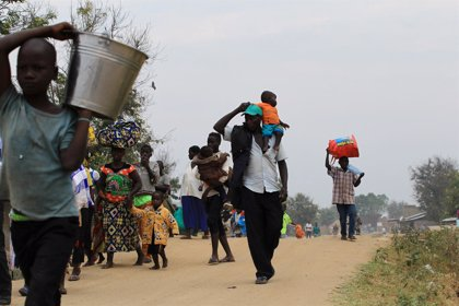 Más de 57.000 personas abandonan sus hogares por la violencia en el este de República Democrática del Congo