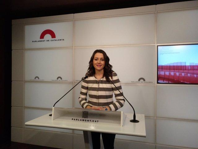 Inés Arrimadas (Cs) (Archivo)