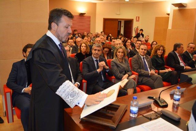 Ángel Cervantes, nuevo decano colegio Abogados
