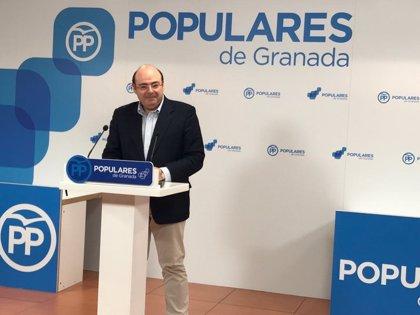 """El PP de Granada considera """"un insulto"""" que el exministro José Blanco critique el retraso del AVE"""