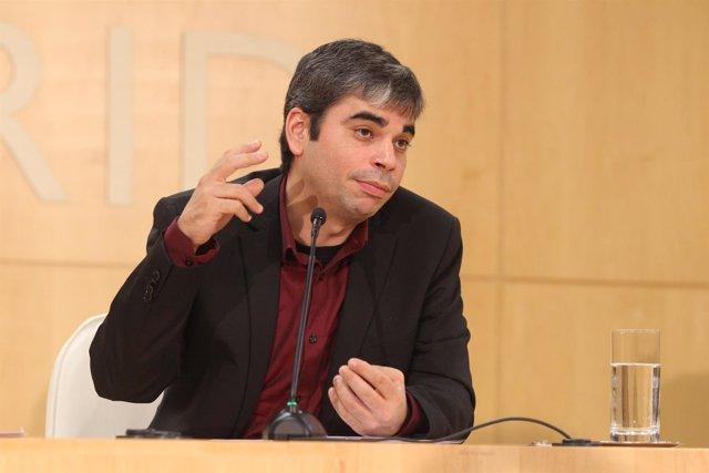 Jorge García Castaño , delegado de Economía del Ayuntamiento de Madrid