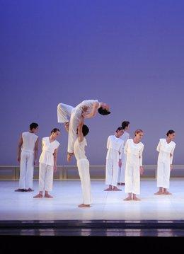 Un momento de la actuación de 'El Mesías' de Händel