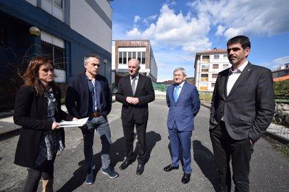 Ayuntamiento y Kutxa Fundazioa acuerdan usar el antiguo Instituto de la Construcción de Altza como polideportivo