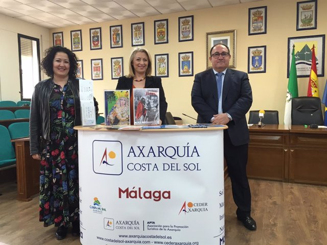 Presentación campaña de turismo de mancomunidad axarquá en málaga