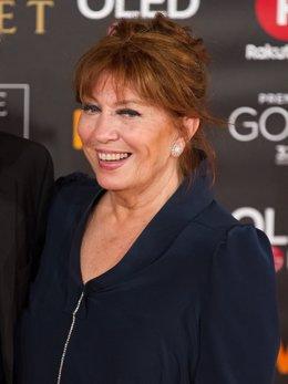 La actriz Mercedes Sampietro.