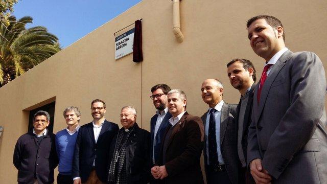 Cort dedica una calle a Sebastià Arrom, fundador de Sant Josep Obrer