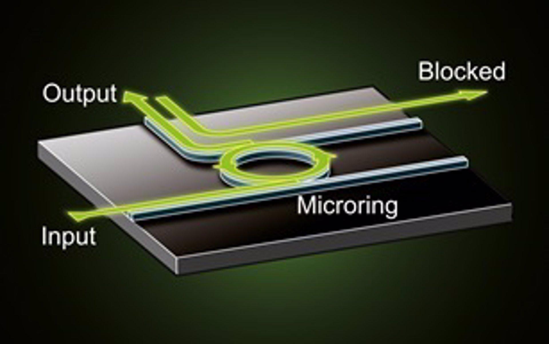 Primeros diodos hechos de luz