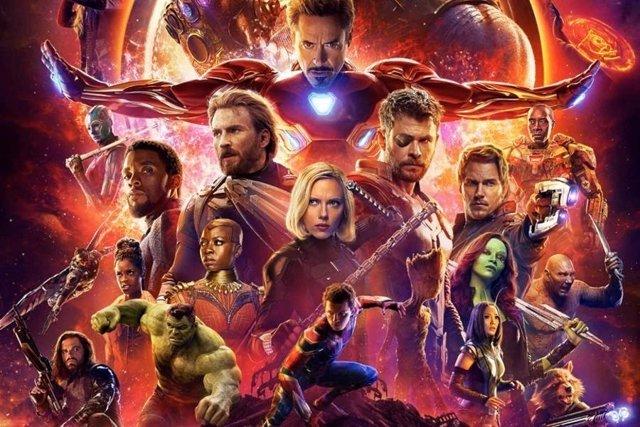 Póster de Los Vengadores Infinity War