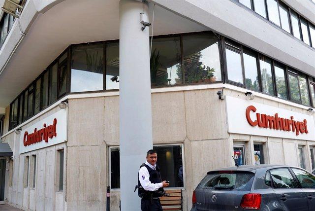Cumhuriyet, periódico turco opositor y crítico con el Gobierno de Erdogan