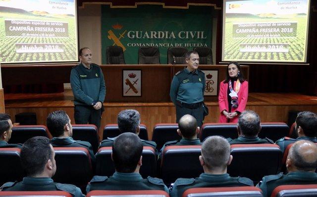 Refuerzos de la Guardia Civil por la campaña agrícola
