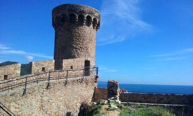 Muralla de Tossa de Mar restaurada