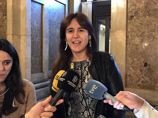 Laura Borràs, JxCat