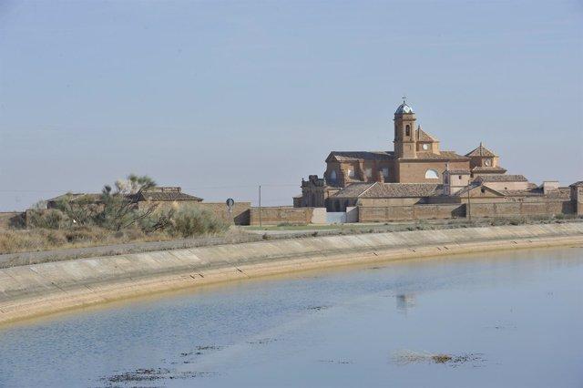 La Cartuja de Nuestra Señora de las Fuentes, en Sariñena (Huesca)