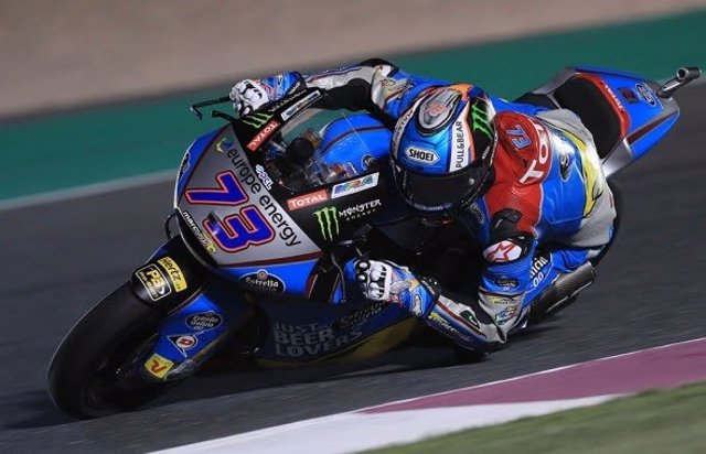 El piloto español de Moto2 Álex Márquez