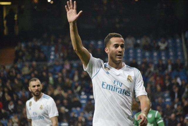 Lucas Vazquez (Real Madrid) durante un partido