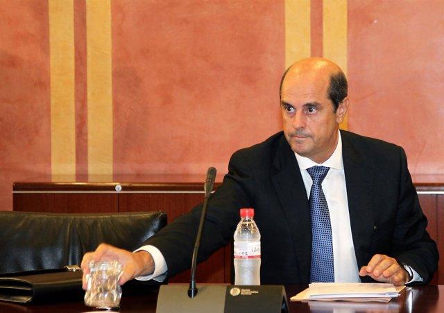 Vitalia Antonio Albarracín comparece en la comisión de los ERE