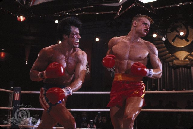 Rocky Balboa e Ivan Drago