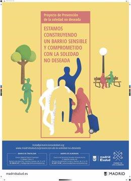 Cartel promocional de la iniciativa para la prevención de la soledad no deseada