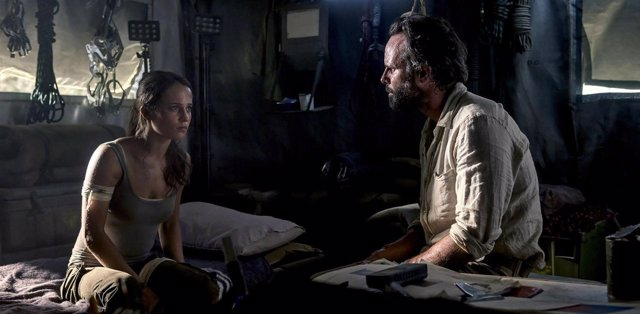 Walton Goggins en Tomb Raider