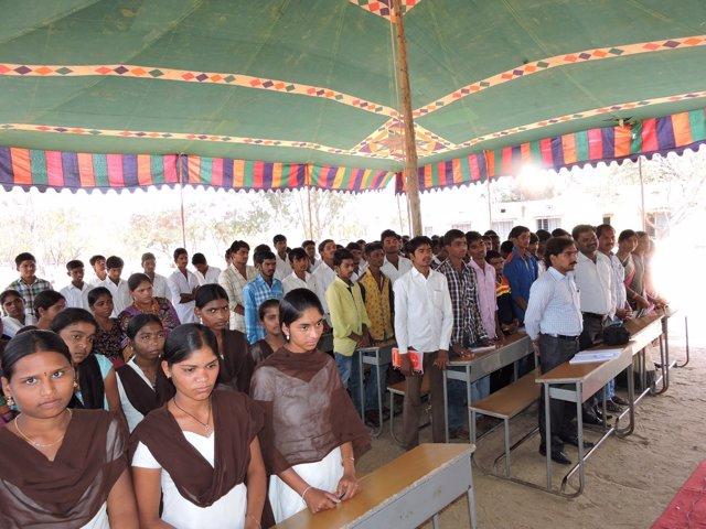 Proyecto de cooperación en India