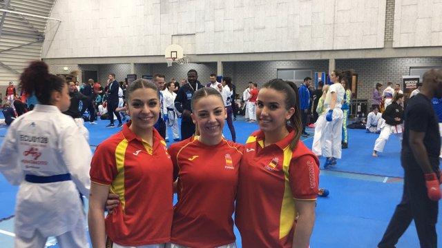 Equipo español femenino de kata