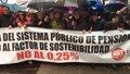 SANCHEZ ACUSA AL GOBIERNO DE DESTRUIR LAS PENSIONES DE LOS JUBILADOS QUE CONSTRUYERON ESPANA