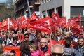 MAS DE 4.000 PERSONAS ACUDEN A LA MANIFESTACION A FAVOR DE LAS PENSIONES DIGNAS