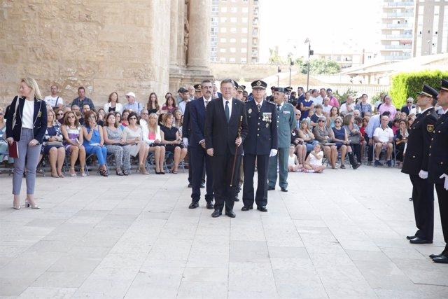 Acto de la Policía de la Generalitat
